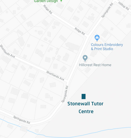 Stonewall Tutor Centre Map